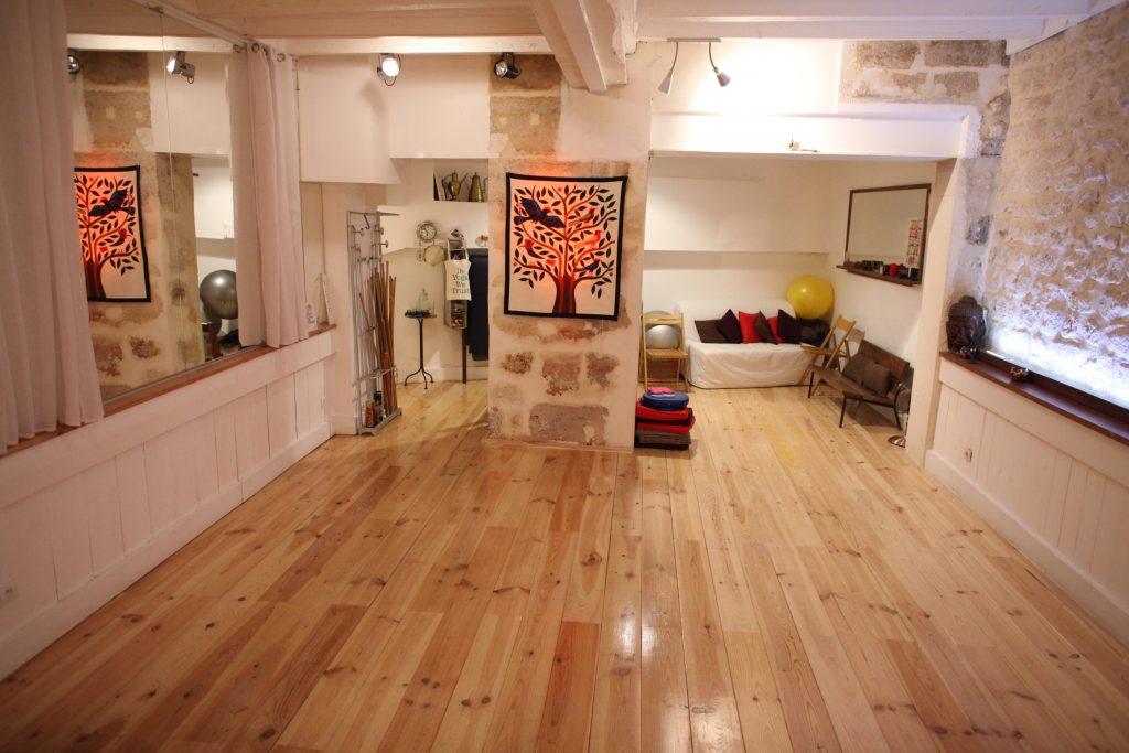 salle cours rue Dauphine Yogaparis